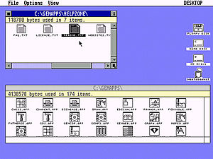 Pantalla de Graphical Environment Manager