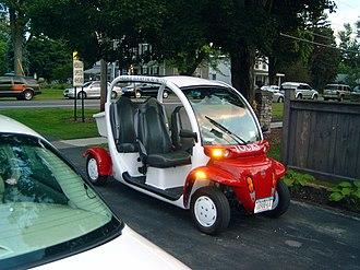 Global Electric Motorcars - Image: GEM e 4