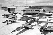 GE test aircraft at Edwards AFB 1958