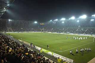 Stade des Alpes Rugby and football stadium in Grenoble, France