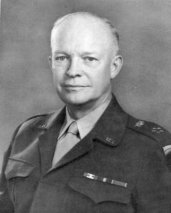 English: General of the Army Eisenhower