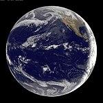 GOES-11 Satellite Sees Pacific Ocean Basin After Japan Quake (5517505569).jpg