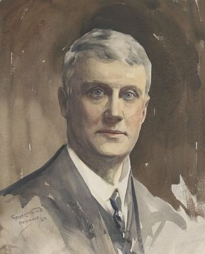 George Ernest Morrison - G. E. Morrison, in a 1902 portrait