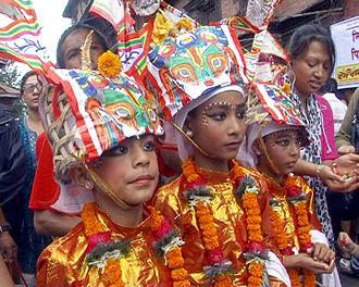 Gai Jatra - Decorations of Gaijatra