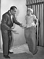 Gale Gordon Jay North Dennis the Menace sack race 1962.JPG