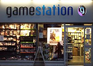 Gamestation - A high-street Gamestation store.