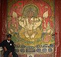 Ganesha mural, City Palace, Udaipur.jpg