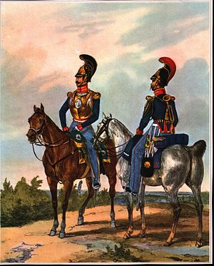 German Federal Army - The Garde du Corps, Kingdom of Hanover, 1835