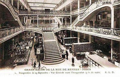 Rue de rennes paris wikip dia - La quincaillerie paris 10 ...