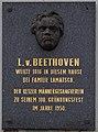 Gedenktafel Beethoven 1595 in A-2070 Retz.jpg
