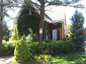 National Register of Historic Places listings in Green County, Wisconsin - Image: Gen James Bintliff House 2012 09 23 13 11 31