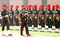 Gen. V.K. Singh presented a Guard of Honour on taking over the Chief of Army Staff, in New Delhi on April 01, 2010.jpg