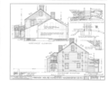 General Cyrus French House, Kingstown Road (State Route 138) and College Road, Kingston, Washington County, RI HABS RI,5-KING,2- (sheet 4 of 11).png