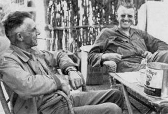 Frank Merrill - General Stilwell and Merrill in 1944