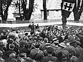 General de Gaulle addressing the citizens of Bayeux, 14 June 1944. A24136.jpg