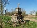 Geniai (Radviliškis), paminklas Vytautui.JPG