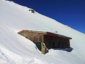 Gennargentu - Image: Gennargentu rifugio di Broncu Spina