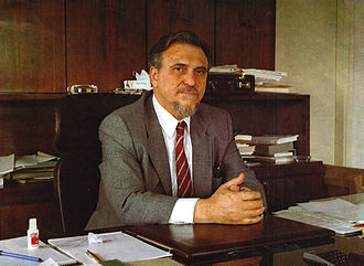 Georgios Lianis - George Lianis as Minister of Research and Technology