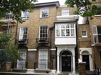 George Alexander Macfarren - Macfarren's house in Hamilton Terrace, St John's Wood