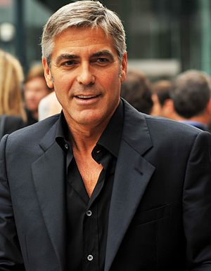 George Clooney filmography - Clooney attending the premiere of The Men Who Stare at Goats at the 2009 Toronto International Film Festival