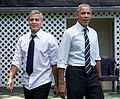 George Clooney with Barack Obama 2016.jpg
