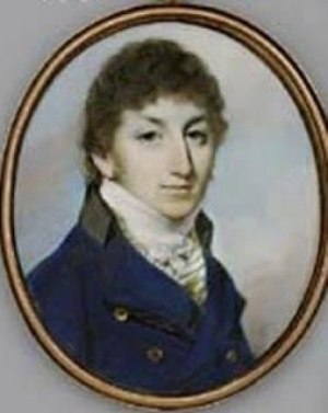 Royal Calpe Hunt - Charles Elphinstone Fleeming in 1789. He was the first Master of the Hunt.