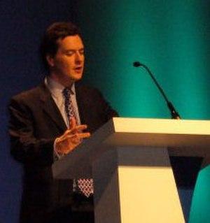 George Osborne - George Osborne at Conservative Spring Forum 2006 in Manchester