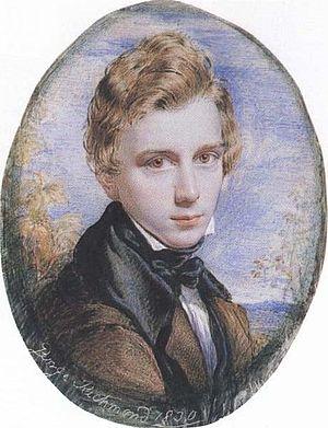 Ancients (art group) - George Richmond self-portrait, 1830, gouache