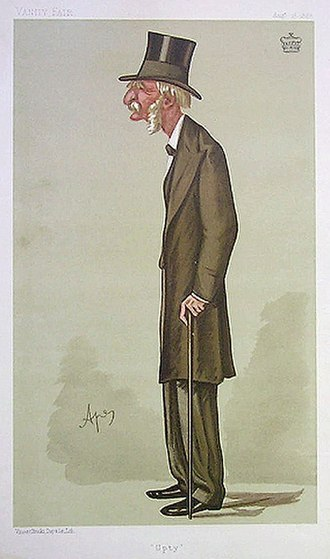 George Upton, 3rd Viscount Templetown - Viscount Templetown caricatured by Carlo Pellegrini (Ape) for Vanity Fair in 1888
