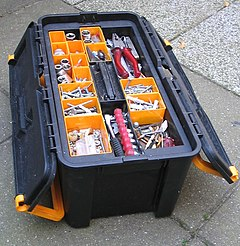 Toolbox box to organize, carry, and protect the owners tools