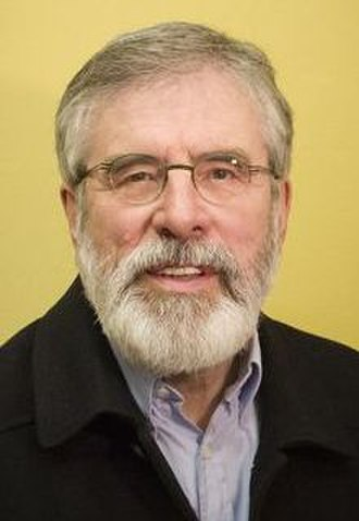 2016 Irish general election - Image: Gerry Adams (official portrait) (cropped)