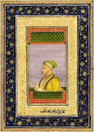 Ghazi ud-Din Khan Feroze Jung III - Portrait of Imad-ul-Mulk