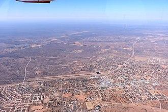 Ghanzi - Ghanzi aerial view (2018)