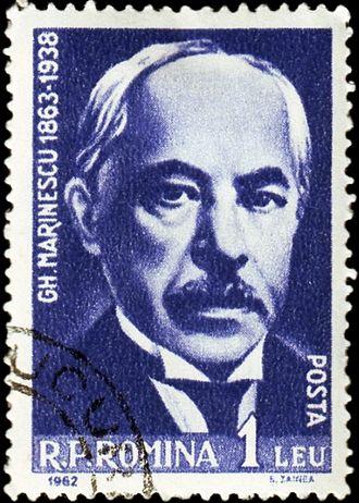 Gheorghe Marinescu - Gheorghe Marinescu on a 1962 Romanian post stamp