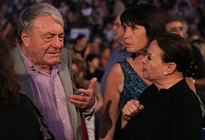 Jerusalem Film Festival - Gila Almagor and Claude Lanzmann at Jerusalem film festival, 2010