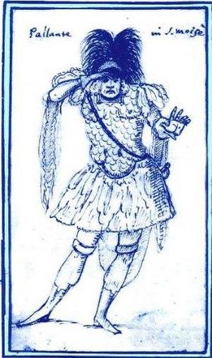 Giuseppe Maria Boschi - A caricature of Boschi