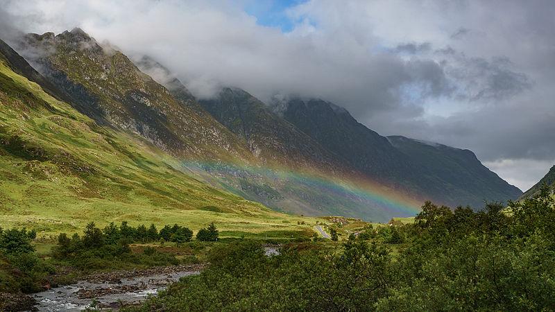 File:Glen Coe Rainbow.jpg