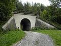 Gloggnitz - KG Aue - Semmeringbahn - Brücke bei km 91-5.jpg