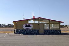Gold Beach Municipal Airport office building, Oregon.jpg
