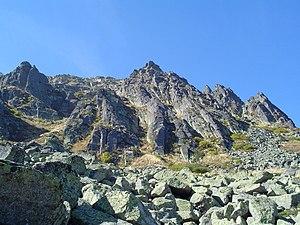 Golyam Rezen - The eastern slopes of Golyam Rezen Peak