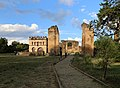 Gondar, cittadella, resti dell'atrio di ingresso, archivio e biblioteca 00.jpg