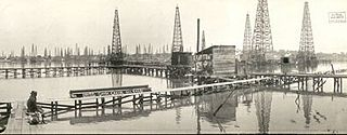 Goose Creek Oil Field one of major oil fields that created the Texas Oil Boom