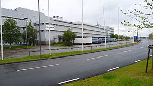 Göteborg Landvetter Airport - Logistics facilities