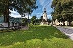 Grafenstein Kriegerdenkmal und Pfarrkirche hl. Stefan 26072018 4007.jpg