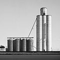 Grain Elevator in Umbarger, Texas 11-6-2011.jpg