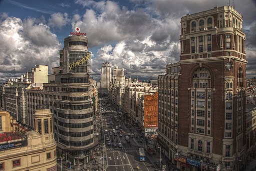 Gran Vía Madrid Spain