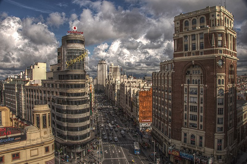 "The UN Secretary-General has blasted the global response as ""utterly inadequate"" Felipe Gabaldón, Gran Vía (Madrid) 1, CC BY 2.0"