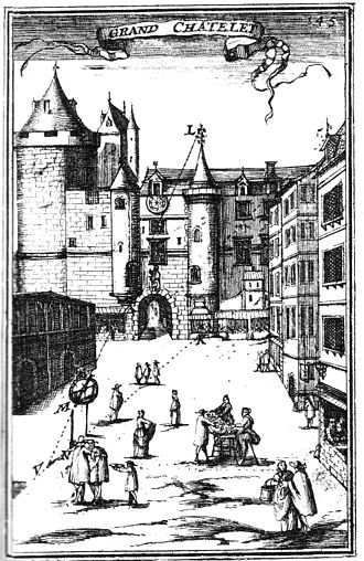 Units of measurement in France before the French Revolution - 17th Century engraving of the Grand Châtelet