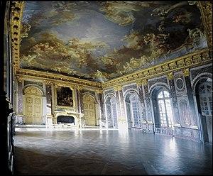 Salon d'Hercule - Created 1724–1736 by Robert de Cotte, Jacques Gabriel, Antoine Vassé, and ClaudeTarlé