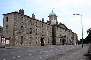 Grangegorman Development Agency - This is the administration annexe of St. Brendan's Psychiatric Hospital, Grangegorman, formerly the Richmond General Penitentiary